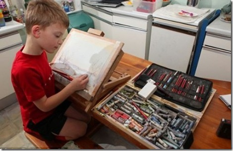 Seven-year-old-boy-sells-paintings-001