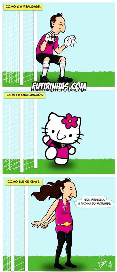 futebol-humor-tirinhas-rogerio-ceni-diva-futirinhas-sao-paulo-camisa-rosa-rogerio-ceni